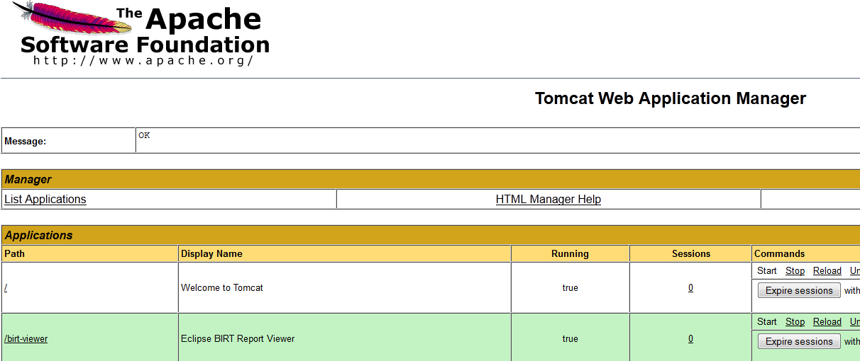 Using BIRT with Apex for PDF reports | emoracle